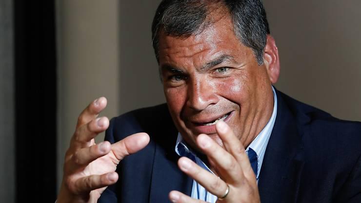 Referendumsentscheid gegen unbegrenzte Wiederwahl in Equador: Rafael Correa war bereits für drei Amtszeiten von 2007 bis 2017 Präsident des südamerikanischen Landes.
