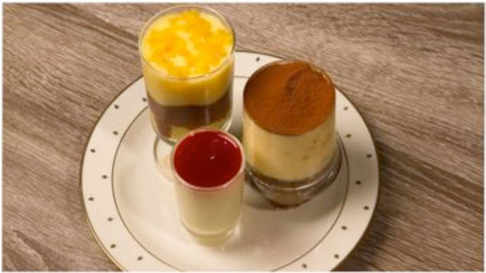 Mini-Desserts im Glas