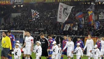 Über 20\'000 Zuschauer im St. Jakob-Park beim Freundschaftsspiel Basel -Bayern