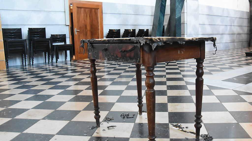 Brandstiftung in katholischer Kirche in Gossau