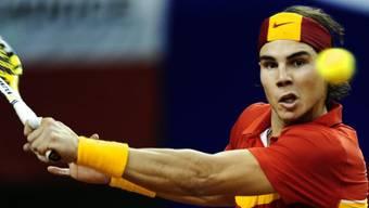 Rafael Nadal bringt Spanien in Führung