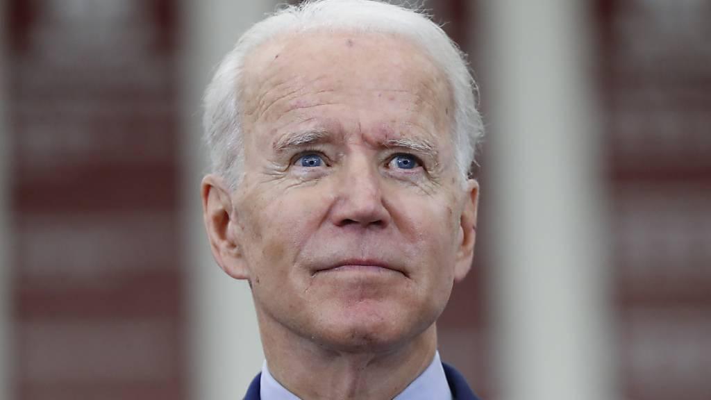 ARCHIV - US-Präsident Donald Trumps Herausforderer Joe Biden bekommt im Wahlkampf nach Erkenntnissen von US-Geheimdiensten gezielt Gegenwind aus Russland. Foto: Paul Sancya/AP/dpa