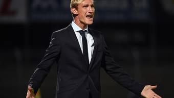 FCZ-Trainer Sami Hyypiä konnte mit seinem Team in Lugano nicht zufrieden sein