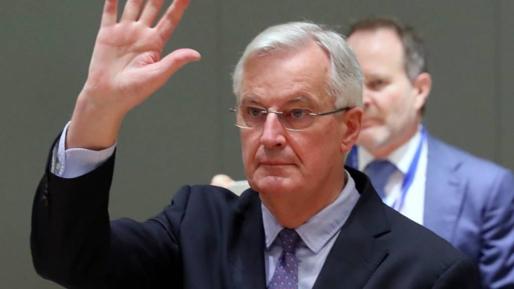 ARCHIV - Der um das Präsidentenamt in Frankreich kämpfende Ex-Brexit-Unterhändler Michel Barnier hält trotz Kritik an der Idee eines französischen Alleingangs in Migrationsfragen fest. Das sagte er dem Wochenblatt «Le Point» am Mittwoch. Foto: Yves Herman/Reuters Pool/dpa