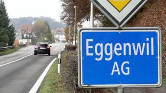 Alter Deponiestandort in Eggenwil wird auf Schadstoffe untersucht. (chr)