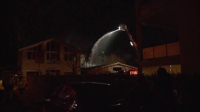 Brand richtet in Lagerhalle grossen Sachschaden an