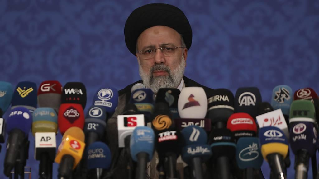 Irans neuer Präsident lehnt Treffen mit Biden ab