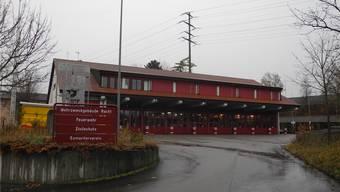 Im Mehrzweckgebäude «Racht» sind die Feuerwehr und die Zivilschutzorganisation Oberes Fricktal untergebracht. mf