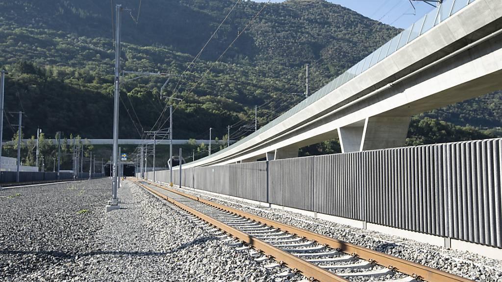 Das Tunnelportal in Camorino.