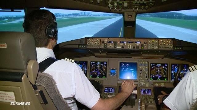 Swiss schult ihre Piloten um
