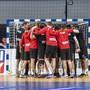 Unser Handball-Nationalmannschaft als verschworene Einheit.
