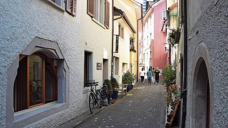 Für die Altstadt ist eine Farbkarte entwickelt worden.