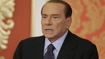 """""""Keine persönlichen Ambitionen"""": Silvio Berlusconi (Archiv)"""