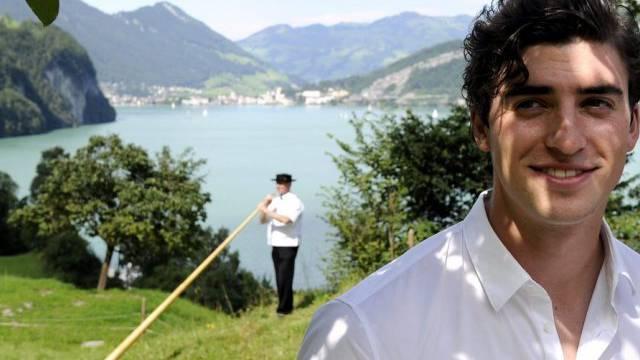 Jan Oliver Bühlmann in seinem Amtsjahr auf dem Rütli (Archiv, 2010)