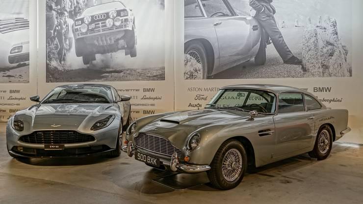 Im Duo eleganter: Aston Martin (DB 11 und DB 5)