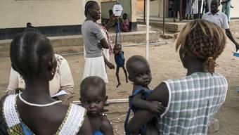 Weltweit leiden 151 Millionen Kinder wegen Unterernährung an Wachstumsstörungen. (Archivbild)