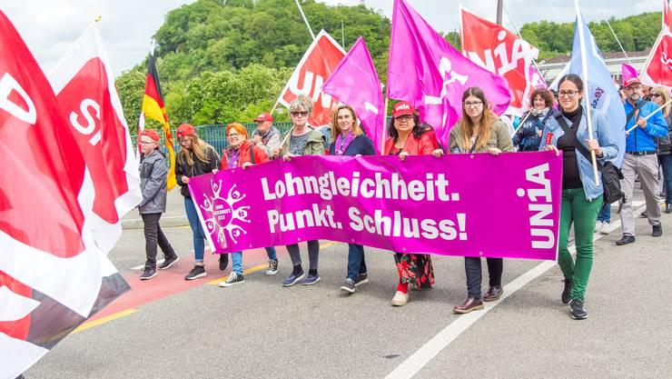 1.Mai-Kundgebung 2018 in Olten