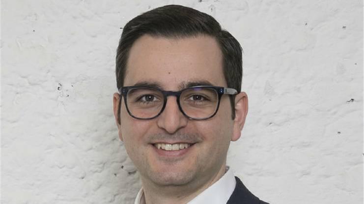 Luca Urgese,Präsident FDP Basel-Stadt: «Natürlich hatte ich die Ambition, gewählt zu werden und den ersten Platz zu erreichen.»