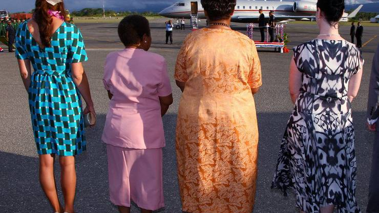 Eine Ansicht der anderen Art: Ankunft am Flughafen in Honiara auf den Salomon-Inseln