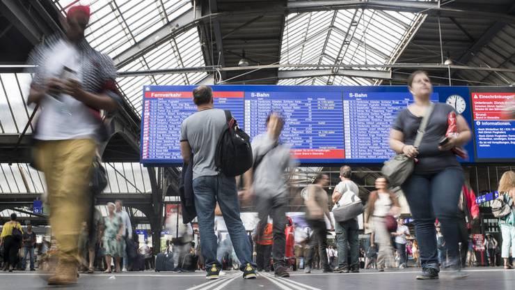 SBB wollen bei Verspätungen besser informieren.