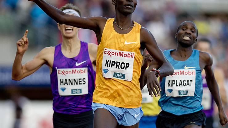 Asbel Kiprop verpasste den Weltrekord nur knapp
