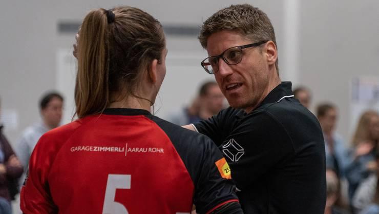 Harald Gloor Headcoach Damen NLB / BTV Aarau Volleyball