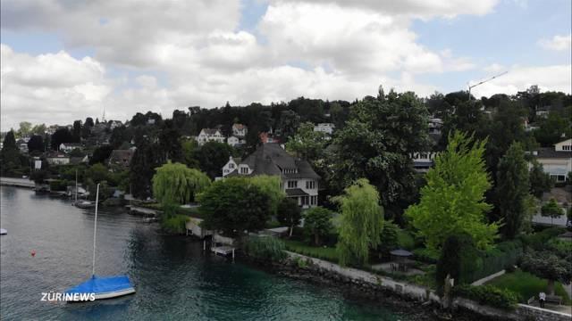 Kein Seeuferweg rund um den Zürichsee