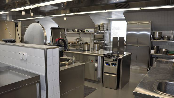 Die Küche im Massnahmenzentrum musste komplett neu gemacht werden