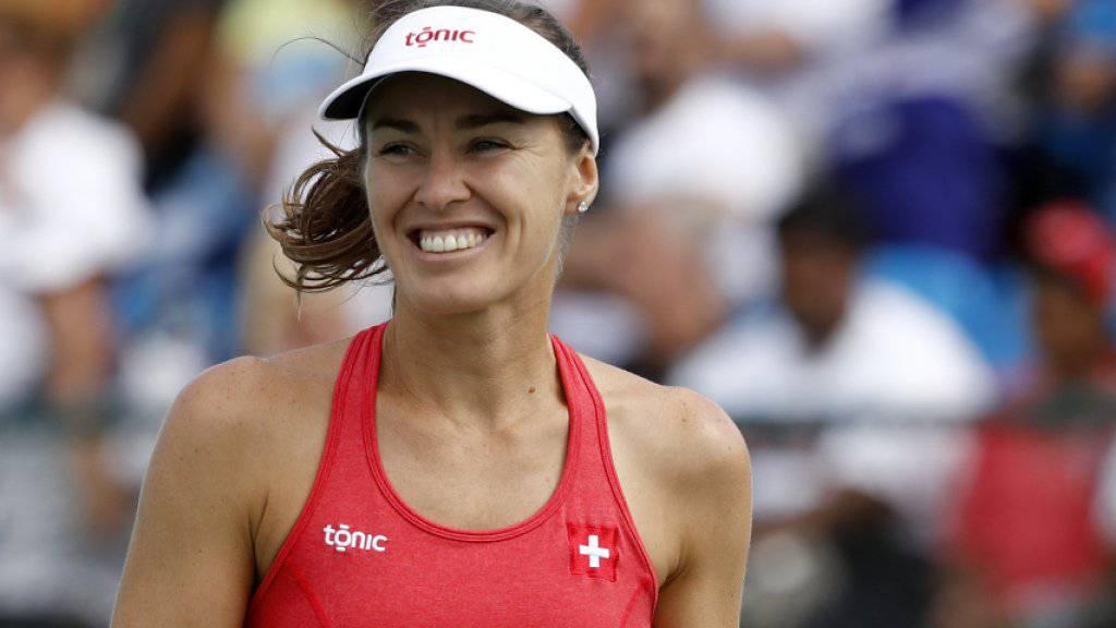 Martina Hingis holte mit Timea Bacsinszky Silber in Rio, Ende Oktober startet sie wieder mit Sania Mirza