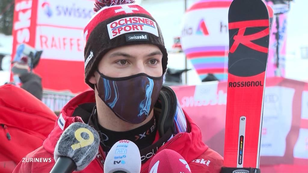 Starke Schweizer beim zweiten Riesenslalom in Adelboden