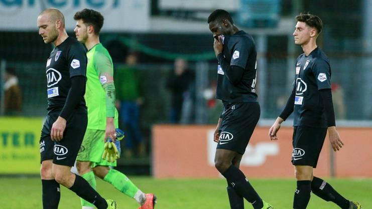 Der FC Aarau hinterlässt nach dem 3:3 gegen Chiasso viele Fragezeichen.
