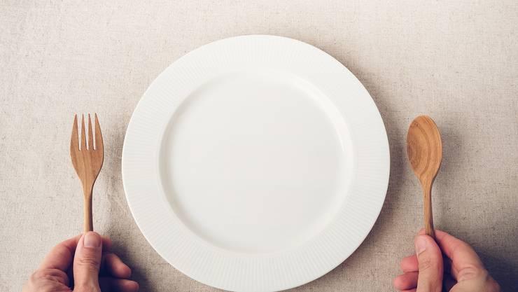 Morgen gibts nichts auf den Teller. Das hebt die Stimmung. Wirklich.