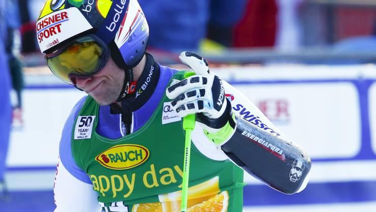 Die Schweizer (hier Justin Murisier) enttäuschten im Riesenslalom von Val d'Isère