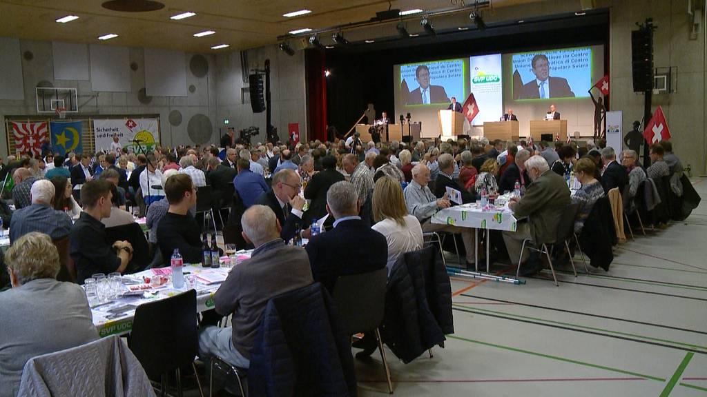 Wahlverlierer SVP bleibt kämpferisch