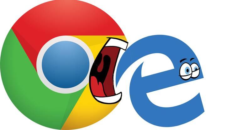 Microsoft steigt auf die Webbrowser-Technologie von Google um.