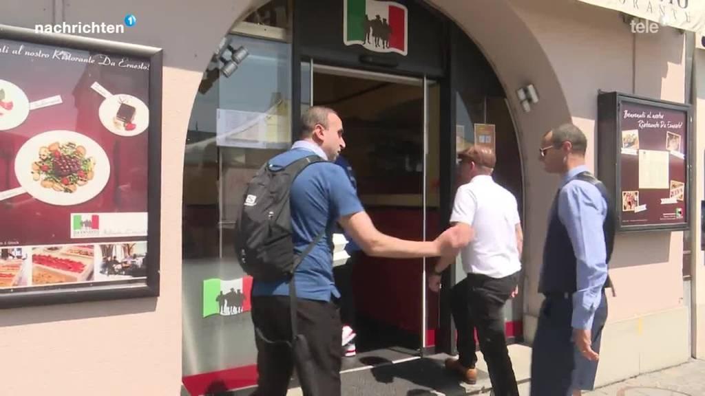 Kulinarikwettbewerb vor EM-Finale England - Italien