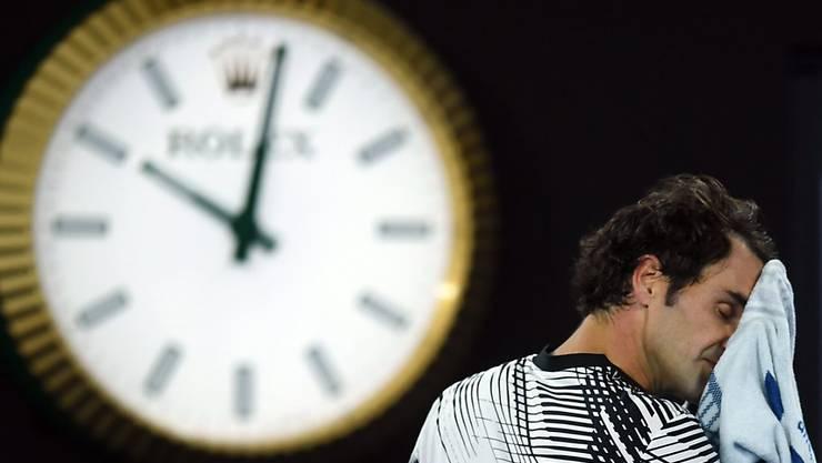Hart erkämpfter Sieg in fünf Sätzen: Roger Federer steht am Australian Open im Final