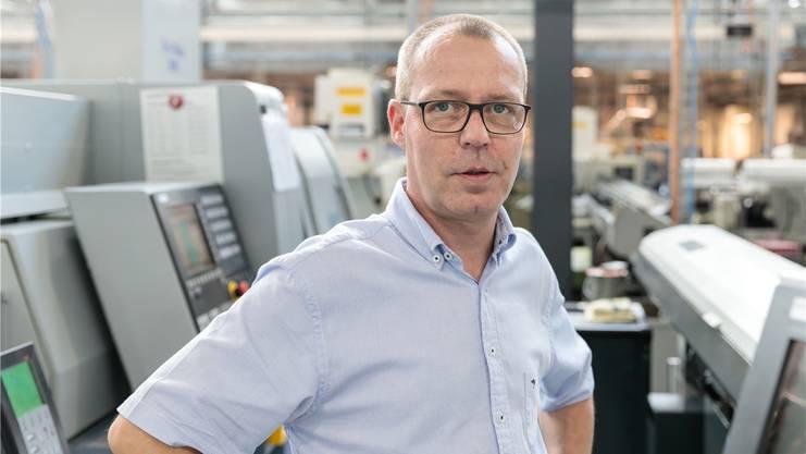 Urs Steinemann, Administrativer Leiter Häni & Co.: «Wir mussten im Mai im Automobil-Bereich Kurzarbeit einführen, weil die Nachfrage um 15 bis 20 Prozent einbrach.»