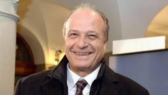 Filippo Leutenegger nach der Wahl im Stadthaus.
