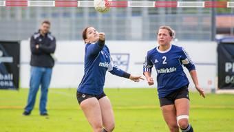 Die Frauen des STV Oberentfelden-Amsteg streben die Finalqualifikation zuhause an.