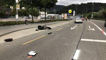 In der Verzweigung Reckholder-/ Baselstrasse in Zwingen BL ereignete sich am Sonntagabend ein Unfall