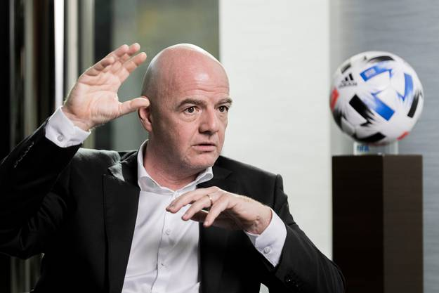 Eine WM ohne Zuschauer? «Unvorstellbar», sagt Gianni Infantino.