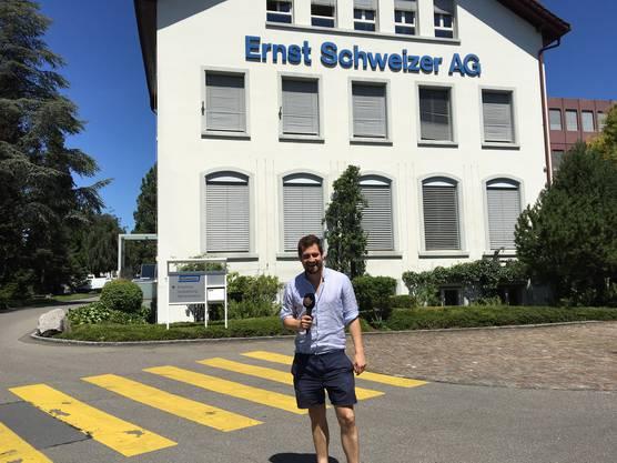 Die Ernst Schweizer AG ist der grösste Arbeitgeber in Hedingen.