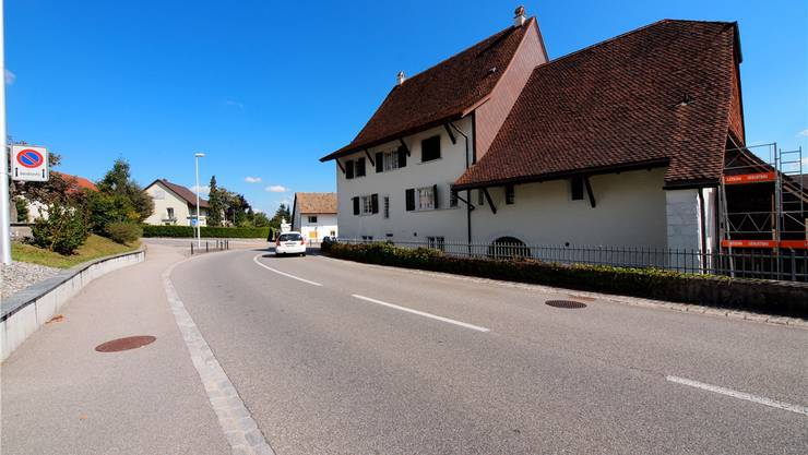Das Pfarrhaus stammt aus dem Jahr 1623