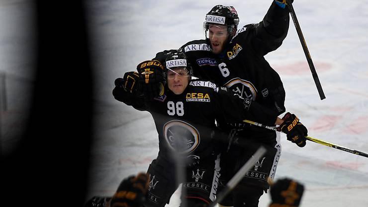 Damien Brunner führt Lugano gegen die ZSC Lions zum Sieg