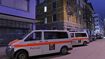 Die Polizei vor Ort im Kreis 3.