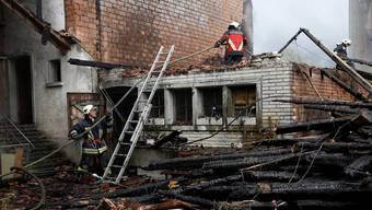 Die Zerstörung des Witihofs in Selzach war 2013 eines der grössten Schadenereignisse. Hanspeter Bärtschi