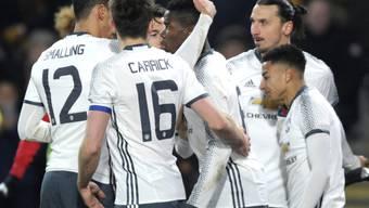 Manchester United konnte sich trotz Niederlage freuen