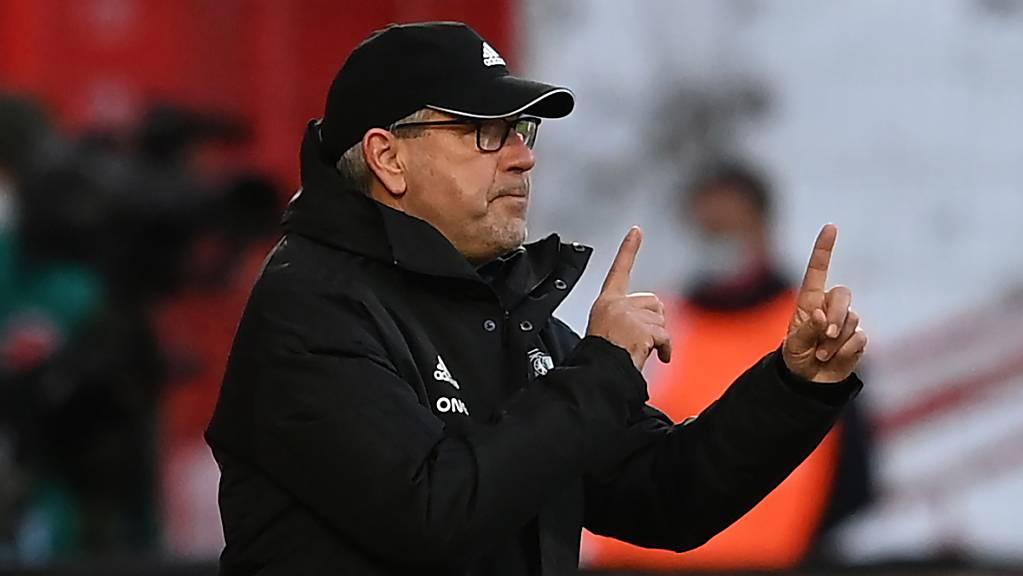 Urs Fischer ist nach der Entlassung von Christian Gross der einzige Schweizer Trainer in der Bundesliga.