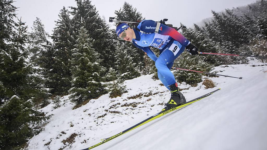 Als Schlussläufer noch drei Plätze gut gemacht: Niklas Hartweg zeigte mit der Schweizer Männer-Staffel eine gute Leistung